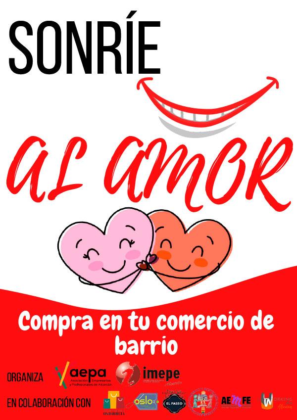 Sonríe al amor Compra en tu comercio de barrio en Alcorcón 💘