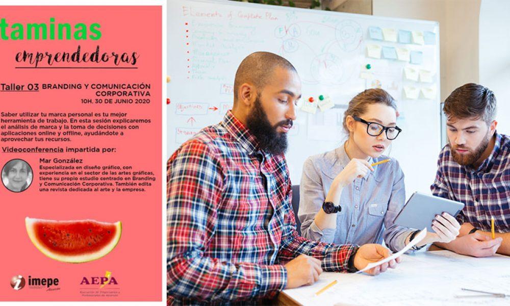 VITAMINAS EMPRENDEDORAS - Taller de Branding y comunicación corporativa