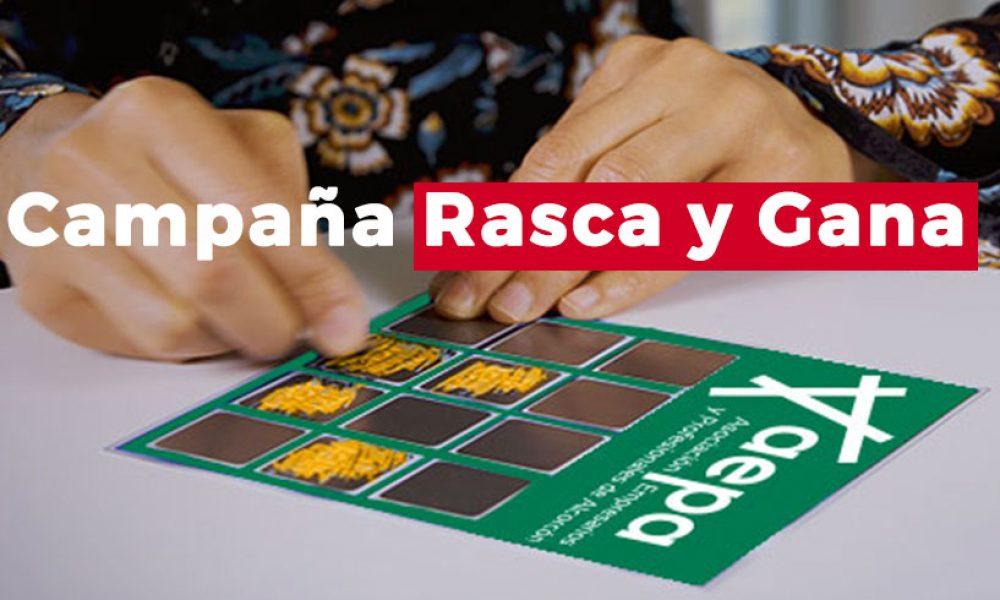 Alcorcón premia tu compra - Rasca y Gana