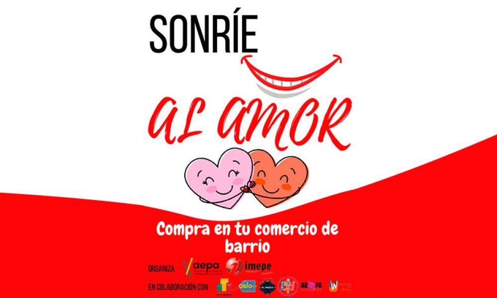 Sonríe al amor Compra en tu comercio de barrio en Alcorcón