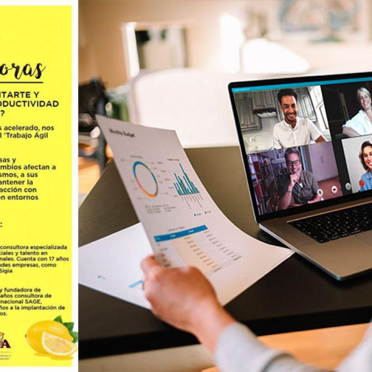 VITAMINAS EMPRENDEDORAS – Taller 2 – ¿Quieres reinventarte y aumentar tu productividad teletrabajando?