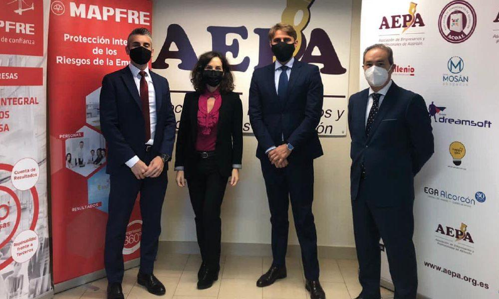Firma convenio con la empresa Mapfre - Aepa
