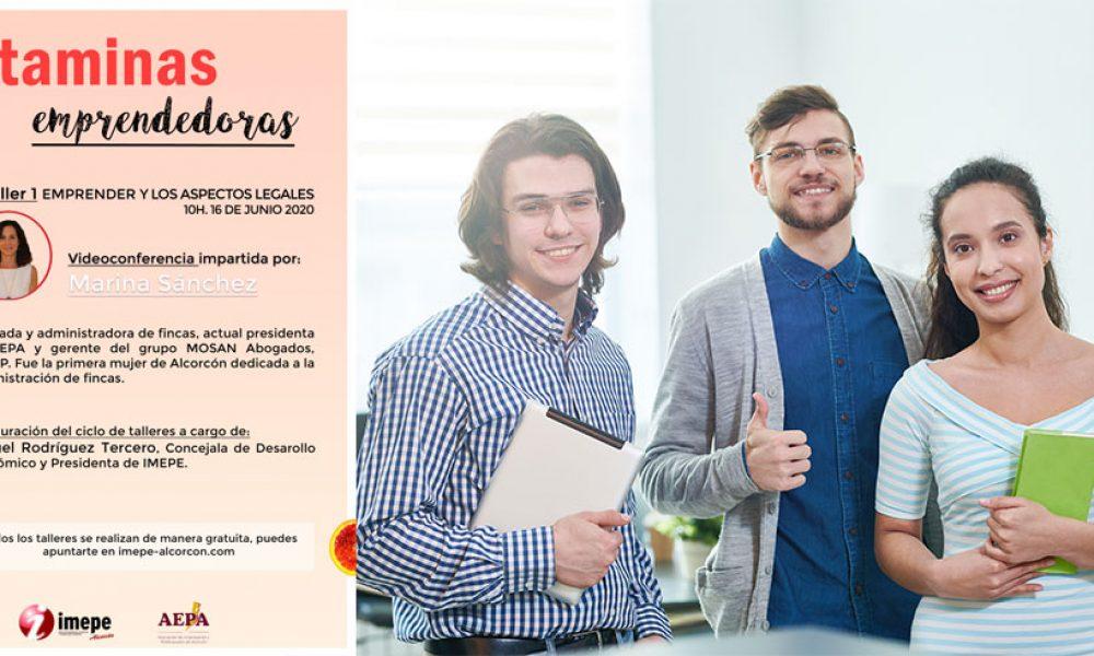 VITAMINAS EMPRENDEDORAS - Taller 1 - Emprender y los aspectos legales