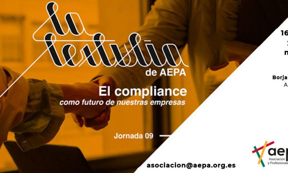 La tertulia de AEPA - El compliance como futuro de nuestras empresas